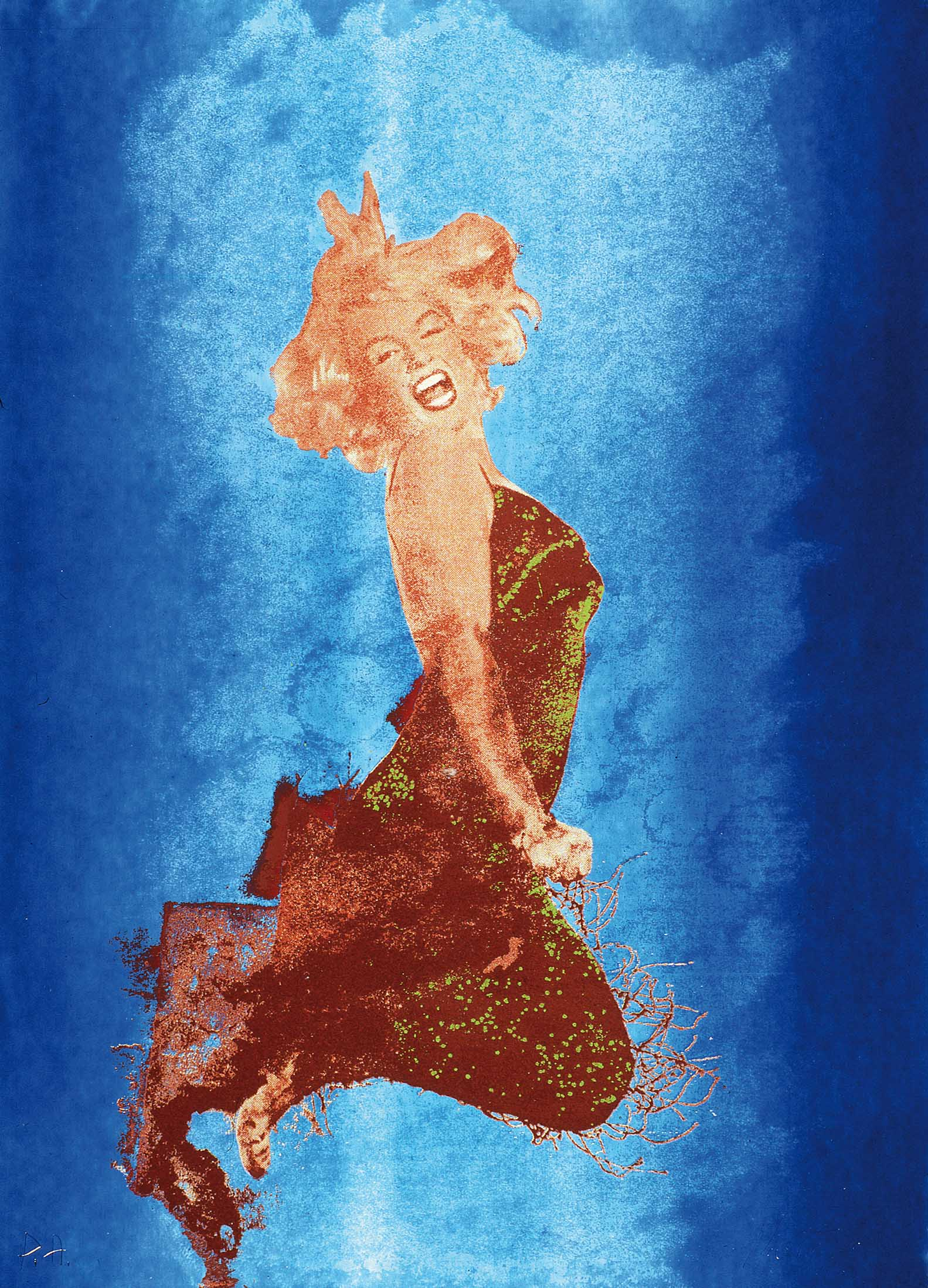 'Marilyn' 1974, 70 x 50 cm, 15 col. Cat. n.602